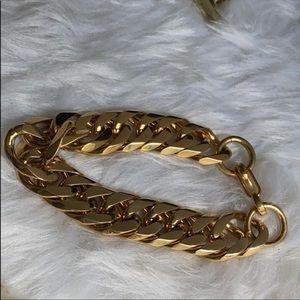 Jewelry - 18K Gold Filled Chunky Bracelet
